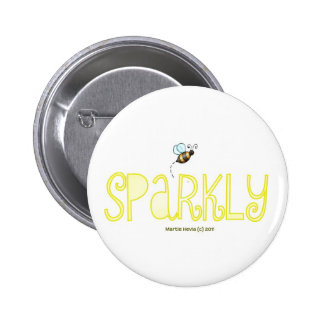Be Sparkly - A Positive Word 6 Cm Round Badge
