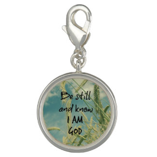 Be Still and Know I am God Bible Verse