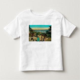 Beach and Bath House, Long BeachLong Beach, CA Tshirt
