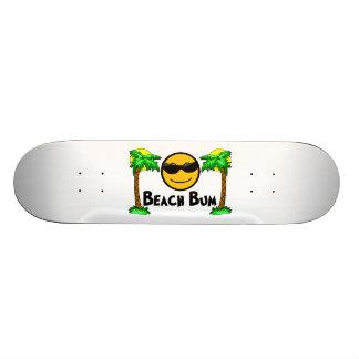 Beach Bum Sunshine & Palm Trees Skate Deck