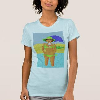 Beach girl t shirt