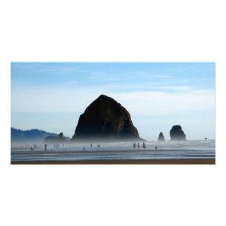 beach haze personalised photo card
