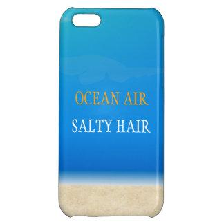 Beach Iphone Cover - Ocean Air Salty Hair Cover For iPhone 5C
