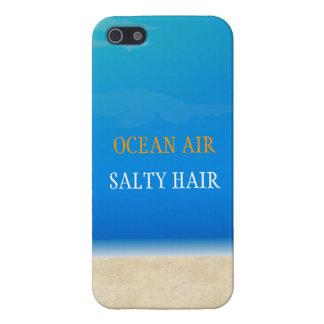 Beach Iphone Cover - Ocean Air Salty Hair iPhone 5 Cover