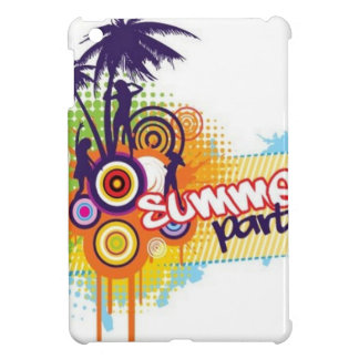 Beach party design iPad mini covers