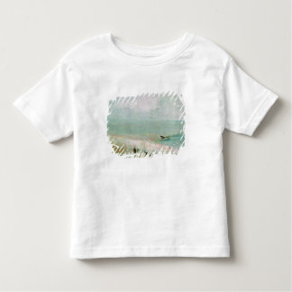 Beach with figures and a jetty. c.1830 toddler T-Shirt