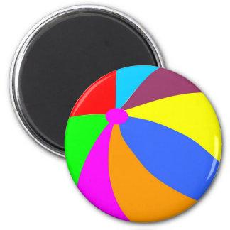 Beachball 6 Cm Round Magnet