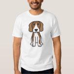 Beagle Dog Cartoon Tee Shirts