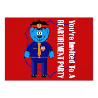Beartirement Inivtation 13 Cm X 18 Cm Invitation Card