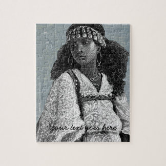 Beautiful African Girl Jigsaw Puzzle