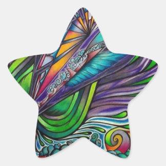 Beautiful Chasm Star Sticker