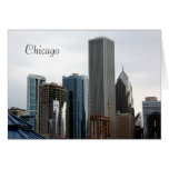 Beautiful Chicago Architecture Note Card