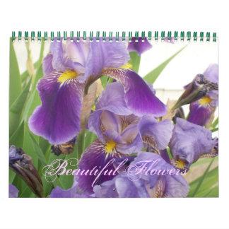 Beautiful Flowers Calendar
