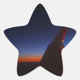 Beautiful Horizon Star Sticker