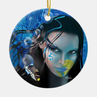 Beautiful Mara Mermaid Ornament