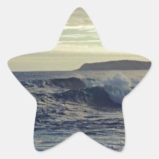 beautiful nature star sticker