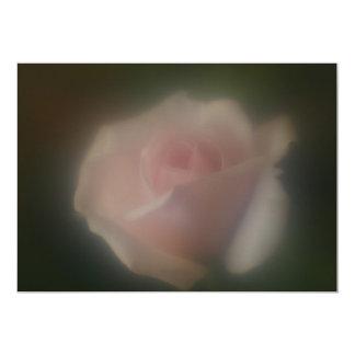 Beautiful Pink Rose Invitation