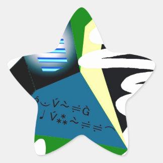 Beautiful Star Sticker