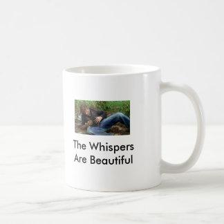 Beautiful Whispers Basic White Mug