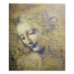 Beautiful Woman By Leonard Davinci print