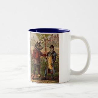 Beauty & The Beast Merchant and The Beast Two-Tone Mug