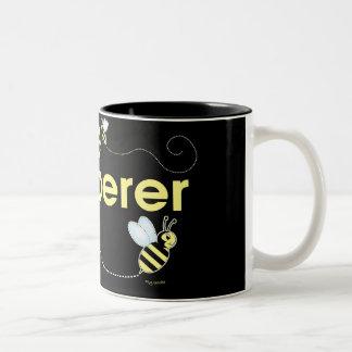 Bee Whisperer Two-Tone Mug