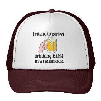 Beer in a Hammock cap