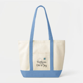 Beethoven Ode To Joy Music Gift Impulse Tote Bag