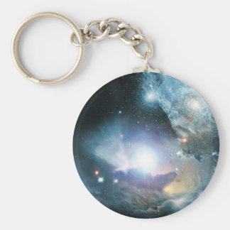 Beginning Of The Universe Basic Round Button Key Ring