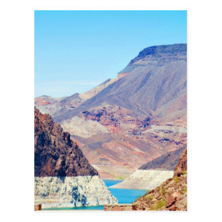 """""""Behind Hoover Dam"""" collection Postcard"""