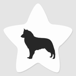 Belgian Groenendael dog, Belgian Shepherd sticker