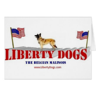 Belgian Malinois Greeting Card
