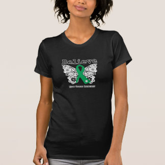Believe - Liver Cancer Butterfly Tshirt