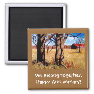 BELONG TOGETHER ANNIVERSARY ART MAGNET