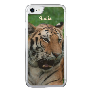 Bengal Tiger in India Carved iPhone 7 Case