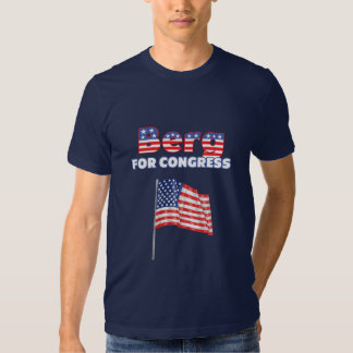 Berg for Congress Patriotic American Flag Shirts