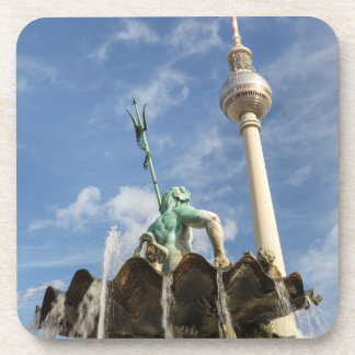 Berlin Television Tower Beverage Coasters
