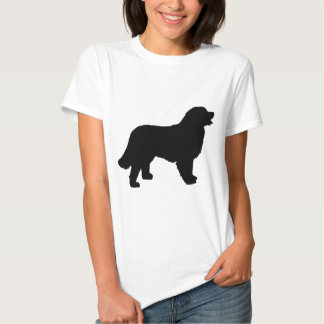 Bernese Mountain Dog (black silhouette) T Shirts