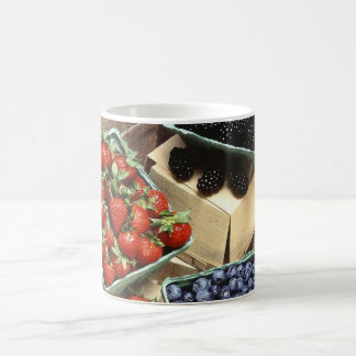 Berries Basic White Mug