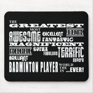 Best Badminton Players Greatest Badminton Player Mouse Pad