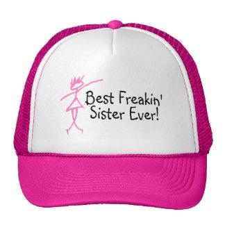 Best Freakin Sister Ever Cap