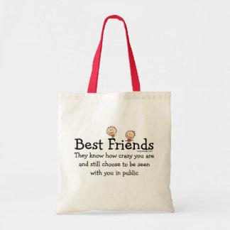 Best Friends Budget Tote Bag