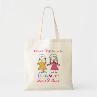 Best Friends Budget Tote Bag