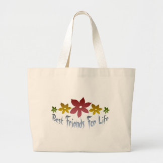 Best Friends For Life Jumbo Tote Bag