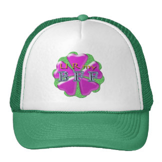 """""""best friends forever"""" u r my bff hat"""