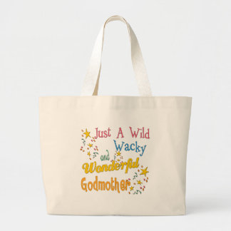 Best Godmother Gifts Jumbo Tote Bag