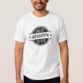 Best Grandpa Ever Black Tshirt