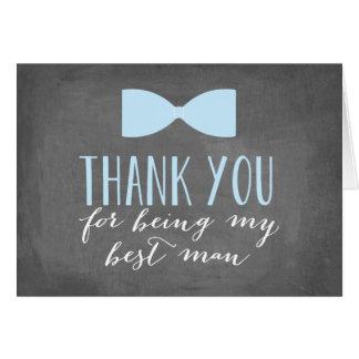 Best Man Thank You | Groomsman Note Card