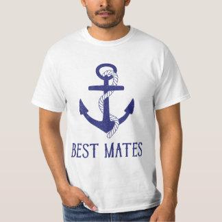 Best Mates Anchor Matching Dog and Human T-shirts