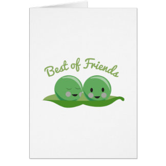 Best Of Friends Greeting Card